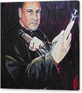 Pencak Silat - Pelatih Johnny Dutrieux Canvas Print