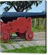 Silent Cannon Canvas Print