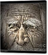 Silent Eyes Canvas Print