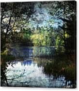 Silent Lake Ludington Michigan Canvas Print