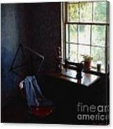 Silent Sewing Room Canvas Print
