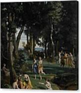 Silenus Canvas Print