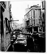 Silenzio Venice Italy Canvas Print