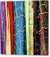 Silk Fabric 01 Canvas Print