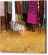 Silk Fabric 02 Canvas Print