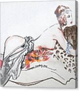 Silk Stockings Canvas Print