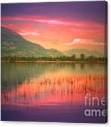 Silky Skies Canvas Print