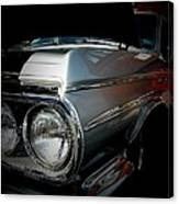 Silver Buick Canvas Print