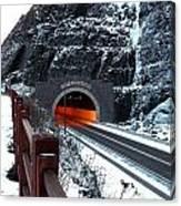 Silver Creek Tunnel Canvas Print