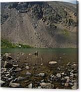 Silver Dollar Lake Colorado Canvas Print