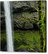 Silver Falls 3 Canvas Print
