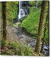 Silver Falls Oregon Canvas Print