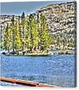 Silver Lake 2 Canvas Print