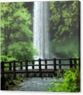 Silver Lake Falls Canvas Print