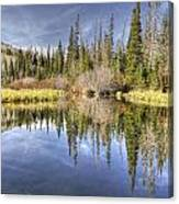 Silver Lake Utah Canvas Print