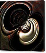 Silver Shadows Canvas Print