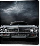 Silver Sixty Five Canvas Print
