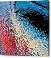 Silver Spirit Abstract Canvas Print