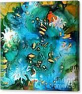 Silver Splendor Canvas Print