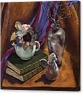 Silver Vase  Canvas Print