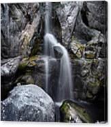 Silver Waterfall Canvas Print