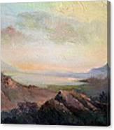 Silverlake Ca Canvas Print
