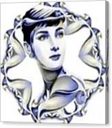 Silverscreenstar Audrey Hepburn Canvas Print