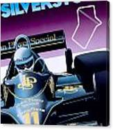 Silverstone Canvas Print