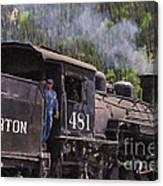 Silverton Engine 481 Canvas Print