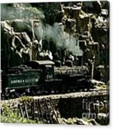 Silverton Steam Locomotive  Canvas Print