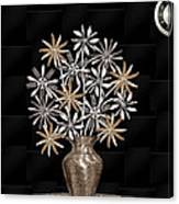 Silverware Bouquet Canvas Print