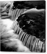 Silvery Falls Canvas Print