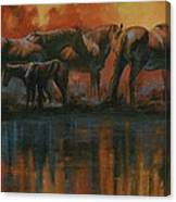 Simmerdim Canvas Print