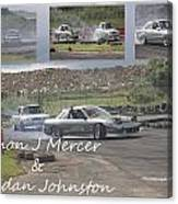 simon Mercer and bredan Johnston Canvas Print
