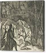 Simon, The Lovelorn Cook, The Fortune Teller Canvas Print