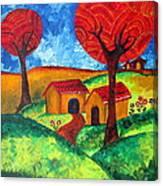 Simple Dreams Acrylic Painting Canvas Print