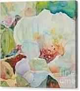 Simple Floral Canvas Print