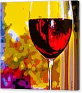 Wine - Simple Life Canvas Print