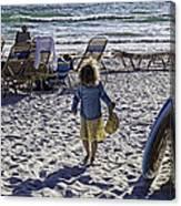 Simpler Times 2 - Miami Beach - Florida Canvas Print