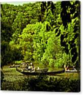 Simpler Times - Central Park - Nyc Canvas Print