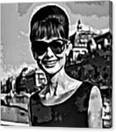 Simply Audrey Canvas Print