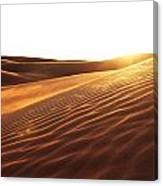 Sinai Sand Sea Canvas Print