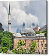 Sinan Pasha Mosque In Istanbul Canvas Print