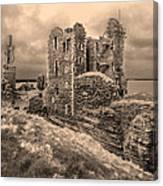 Sinclair Castle Scotland - 2 Canvas Print