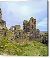 Sinclair Castle Scotland - 3 Canvas Print