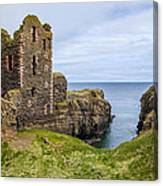 Sinclair Castle Scotland - 4 Canvas Print