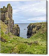 Sinclair Castle Scotland - 5 Canvas Print
