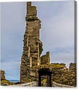 Sinclair Castle Scotland - 6 Canvas Print