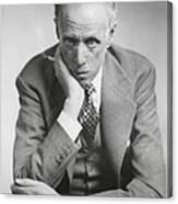 Sinclair Lewis, American Novelist Canvas Print