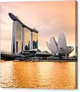 Singapore - Marina Bay Sand Canvas Print